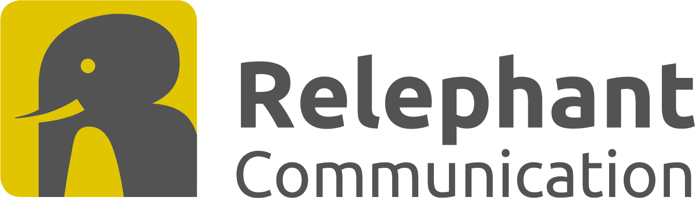 Relephant-Communication Logo
